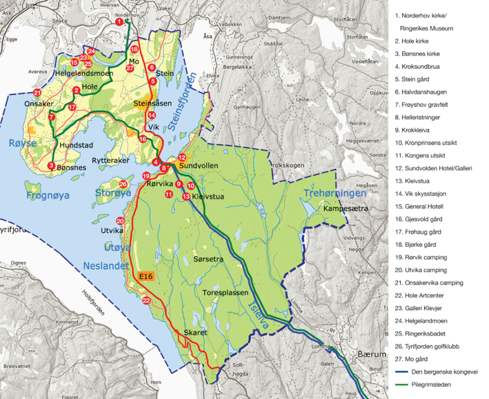 hole kommune kart Stort kart hole kommune kart
